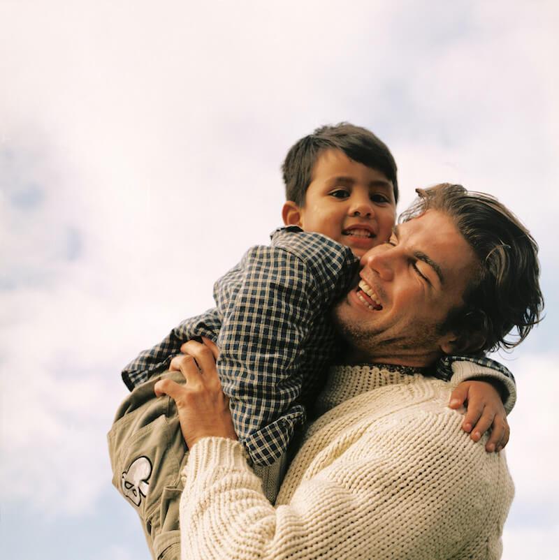 njegovatelj i bolesno dijete