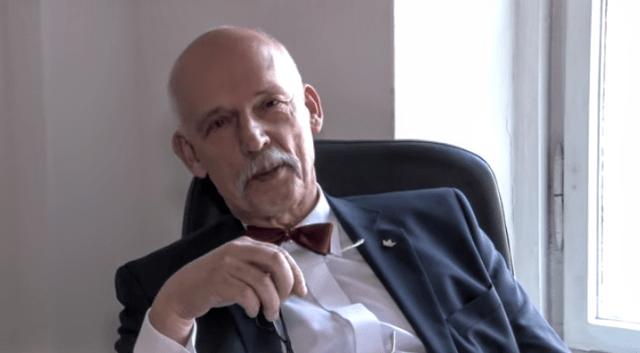 """""""Epidemia"""" to zniewolenie i czysty fakt dziennikarski- Janusz Korwin Mikke"""