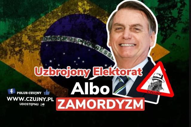 Bolsaro wysyła pierd.. wiadomość do zasranych burmistrzów.