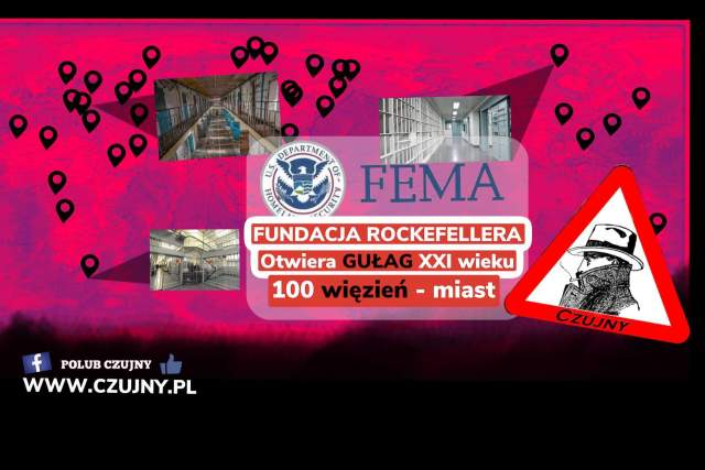 Covid-19, FEMA, Fundacja Rockeffelera, bunt społeczny