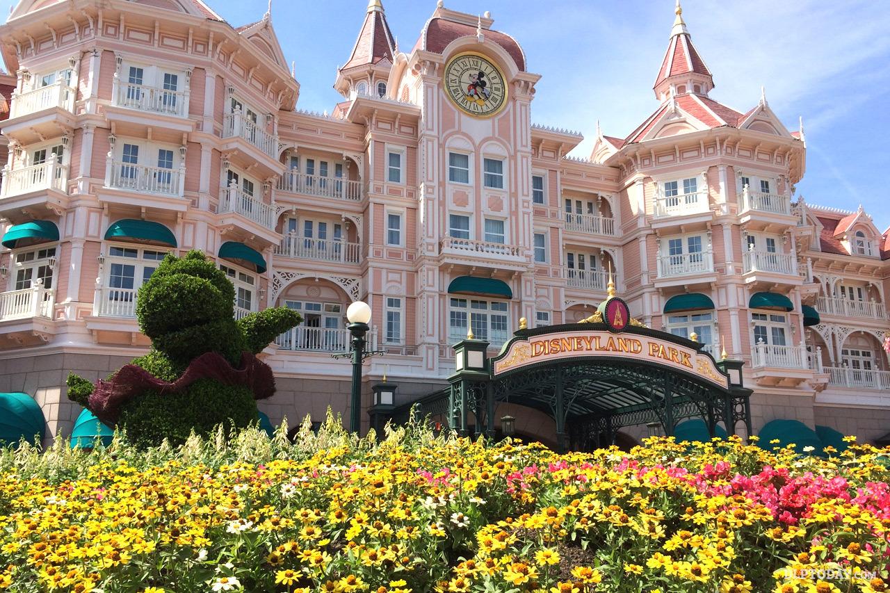 Foto van het Disneyland Hotel in Parijs