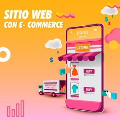sitio web con e commerce-marketing