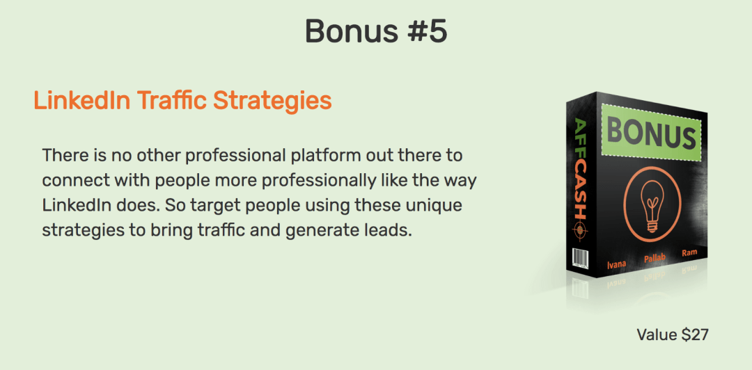 AffCasho Review Reveals 5 Untapped Traffic Sources For Affiliate Commissions and 100% Free Traffic 11