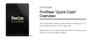 Profiteer is a Training and Software Which Teaches You How To Profit Using 1 Unique Method 3