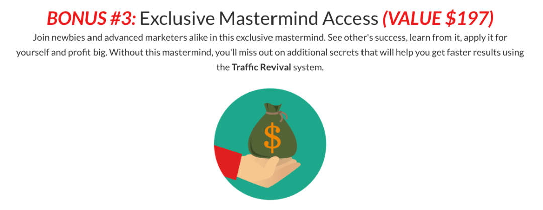 How Traffic Revival Will Help You Get Free Traffic From 3 Different Sources Which Can Bring You Passive Income 5
