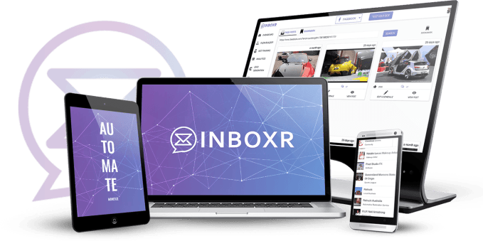 INBOXR is the Worlds First & Only Chat Bot For Multiple Social Networks 6
