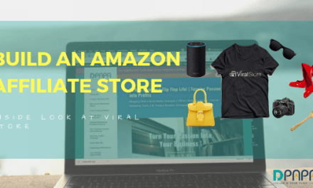 How To Build Your Amazon Affiliate Store in Under 60 Seconds