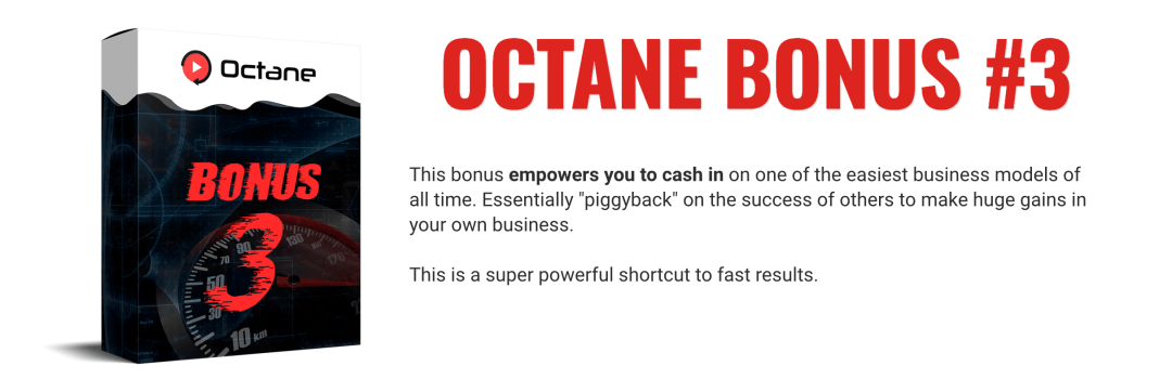 How to Generate a possible $538 commission from Clickbank using OCTANE 12