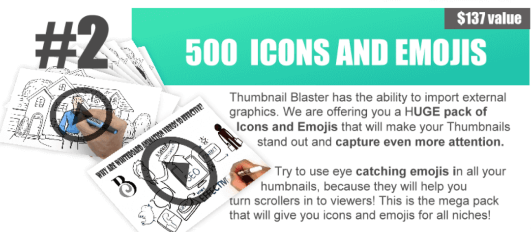 Get More Sales, Traffic and RANKINGS with the SNEAKY software Thumbnail Blaster 19