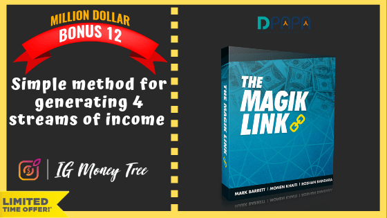 """How To Earn up to $300 """"A POP"""" with your own IG Money Tree Site 24"""