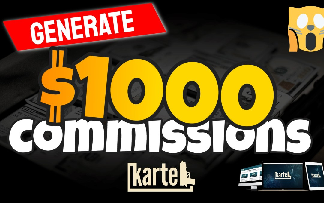 How to Generate Commissions over $1,000,  Live Anywhere and Join the New Rich
