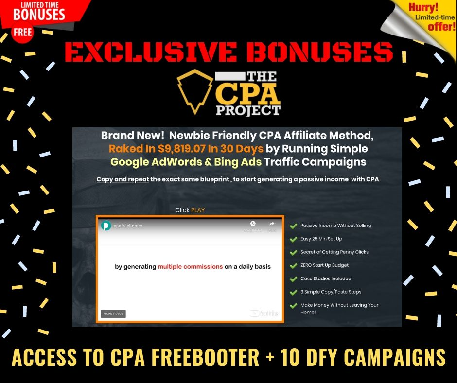 [THE CPA PROJECT] 4 Ways to Build a Passive Income With CPA Affiliate Marketing 9
