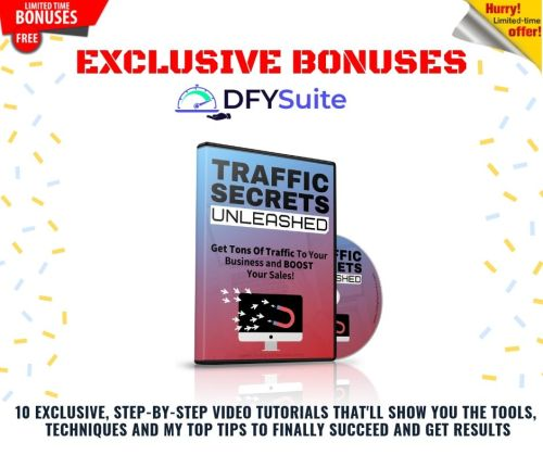 Get Free Targeted Buyer-Traffic In 48 Hours Or Less For Any Website or Offer | DFY Suite 2.0 12