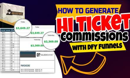100% DONE-FOR-YOU High Ticket Commissions with ZERO Paid Ads or Email Marketing Required