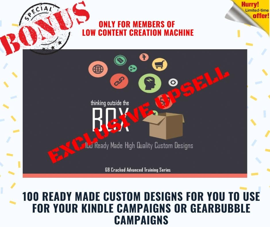 Low Content Creation Machine | Create Your First Low Content Book And Sell It on KDP 5