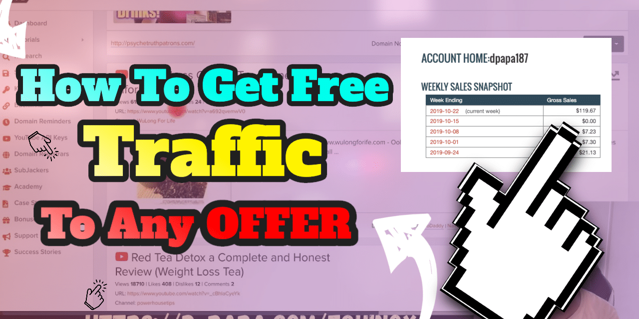 REVEALED: How I'm Getting Free Traffic To Any Offer