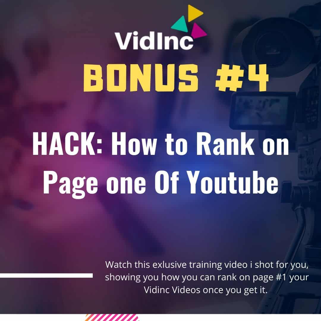 Turn LINKS into VIDEOS in minutes using VidInc 7