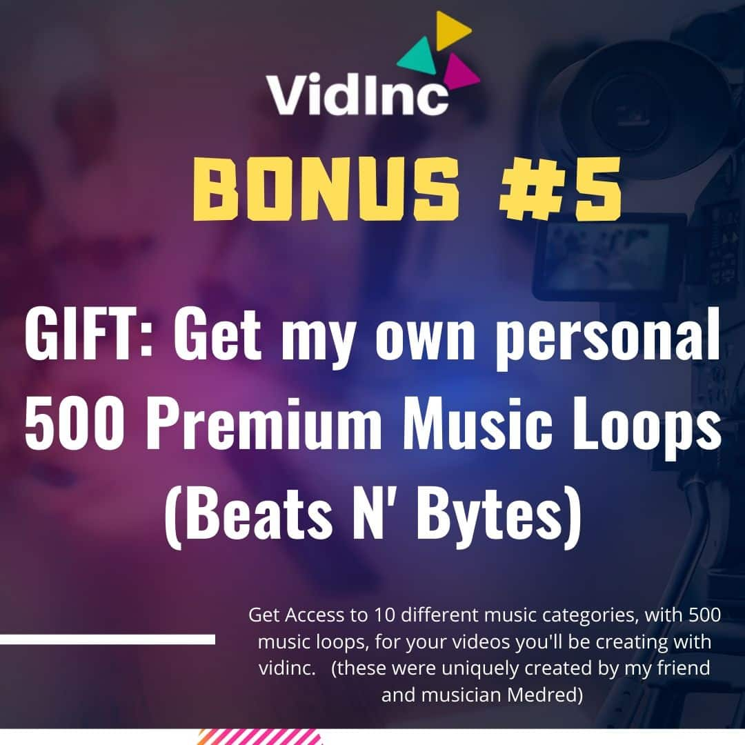 Turn LINKS into VIDEOS in minutes using VidInc 8