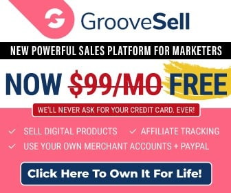 GrooveSell | The Most Powerful Sales and Affiliate Platform NOW Free 7