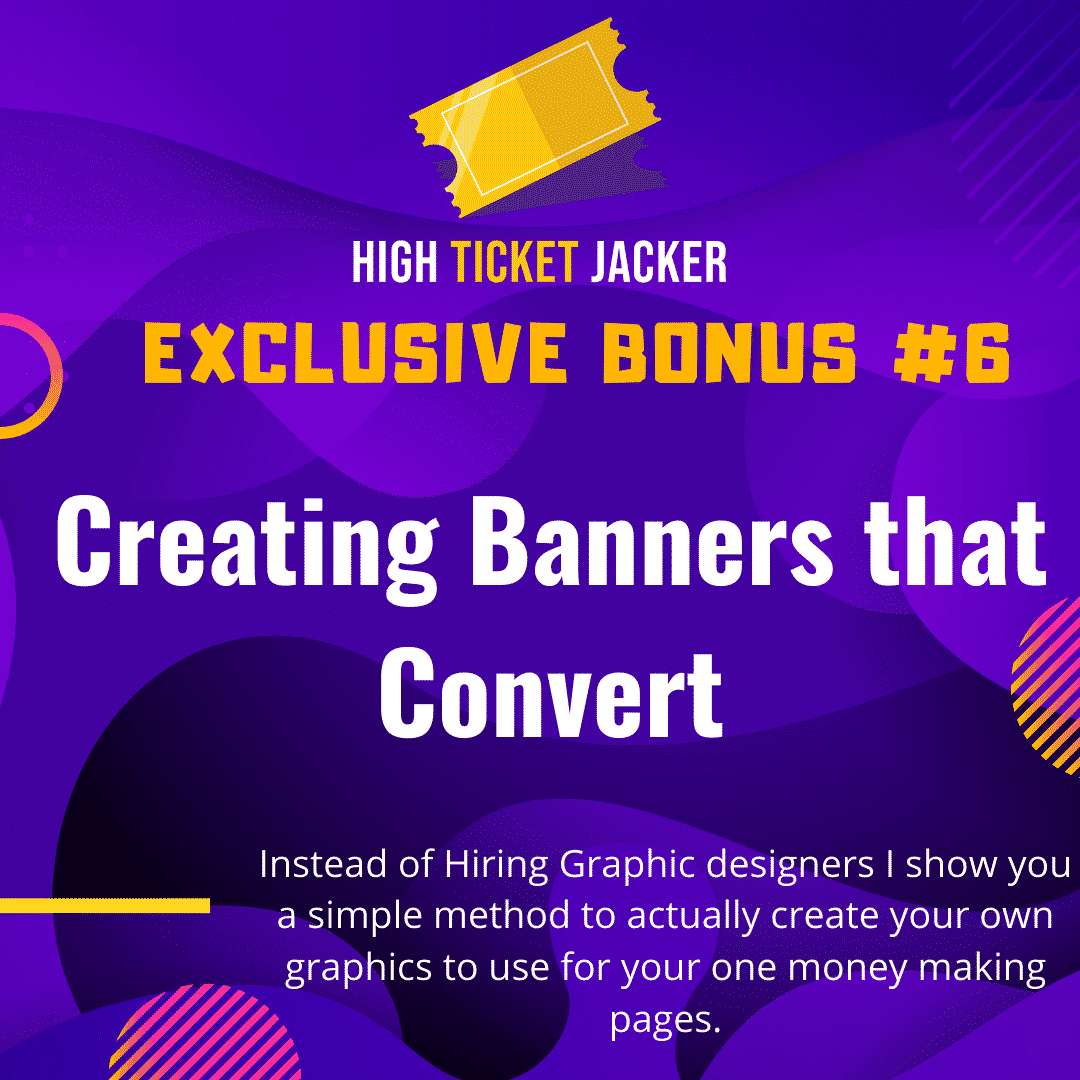 High-Ticket Jacker   Generate High Ticket Commissions With Free Traffic 11