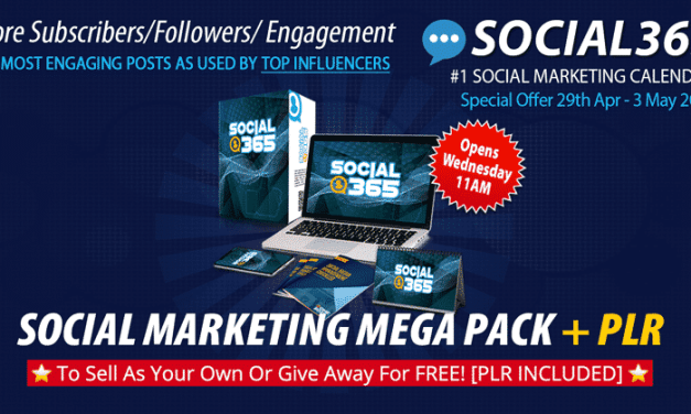Plan, Create & Automate Over 365 Days Worth Of Content and Promotions in Any Niche on Social Media!