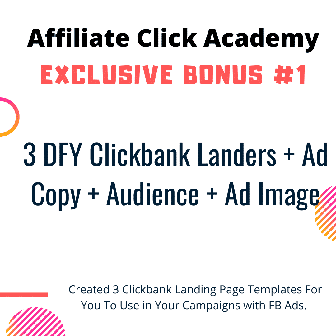 Want To Run Affiliate Campaigns on FB Without Getting Banned? Learn Everything In Affiliate Click Academy 6