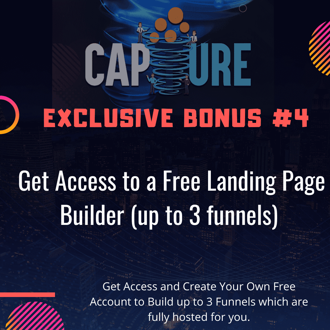 Capture Review   Build a List on Autopilot and Send Traffic To Affiliate Offers 8