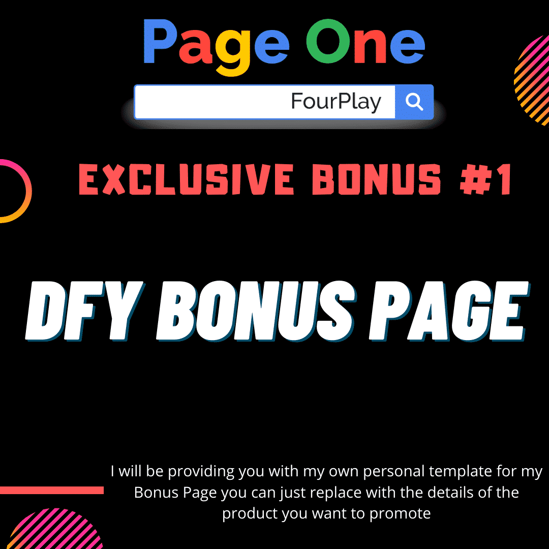 Page One Four Play | The Sneaky Way Of DOMINATING Page One of Google and Youtube 6