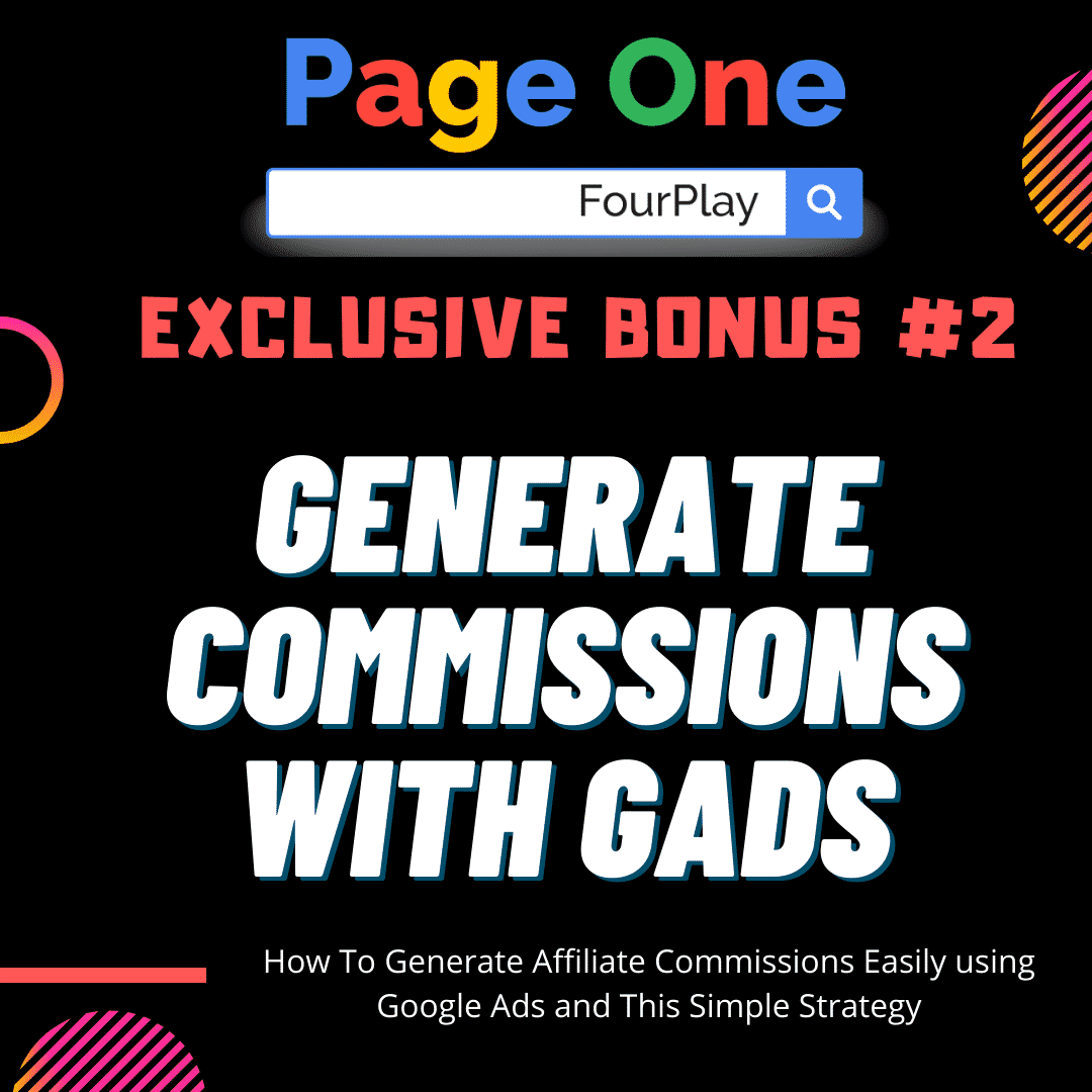 Page One Four Play | The Sneaky Way Of DOMINATING Page One of Google and Youtube 7
