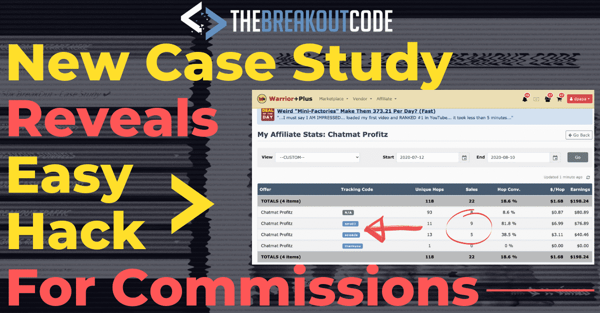 "New Case Study Reveals The Little-Known ""Breakout"" Hack That's Making James $58K Monthly & How You Can Replicate It IN 20 MINUTES…"
