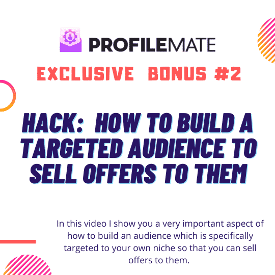 ProfileMate | Worlds #1 Instagram Fan Growth, Email building & Competitor domination software ever created. 7