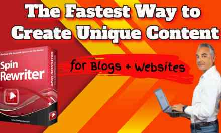 The fastest way to create unique content for your websites