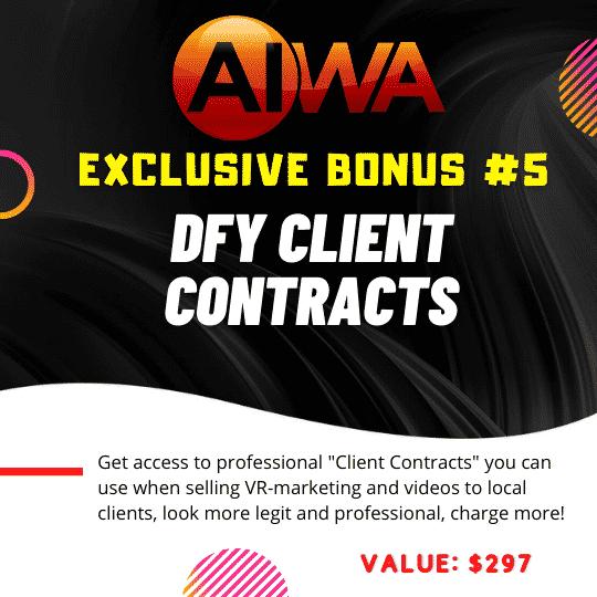 Create Websites using just a keyword using AIWA 8