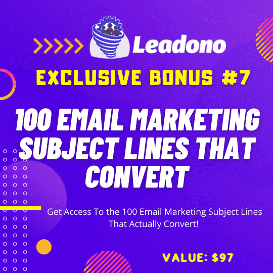 Leadono Autobuilds an Email List From Social Platforms with One Click! 12