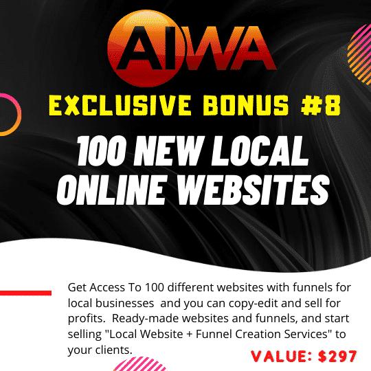 Create Websites using just a keyword using AIWA 11