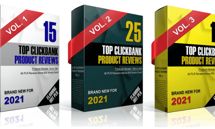 Done For You Top Clickbank Product Reviews PLR 2021 For Affiliates and Bloggers