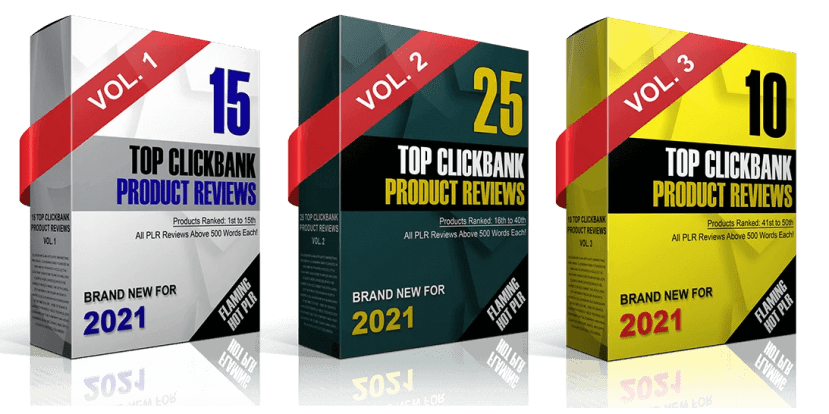 Done For You Top Clickbank Product Reviews PLR 2021 For Affiliates and Bloggers 2