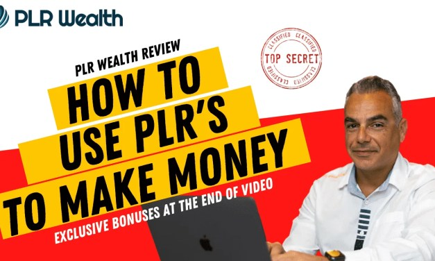 Discover How To Use PLR's To Make Money Online
