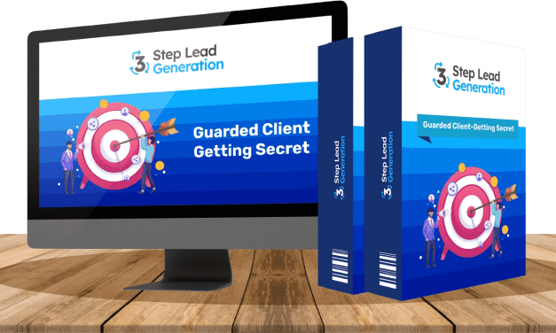 3 Step Lead Generation | A Brand New Client-Getting Secret