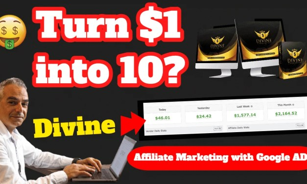 Divine Commissions Case Study  | Could You Turn 1 buck into $10 Every Day?