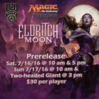 Eldritch Moon - D20 Take on the second Innistrad set...