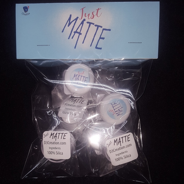 Just Matte 6 Pack of Samples