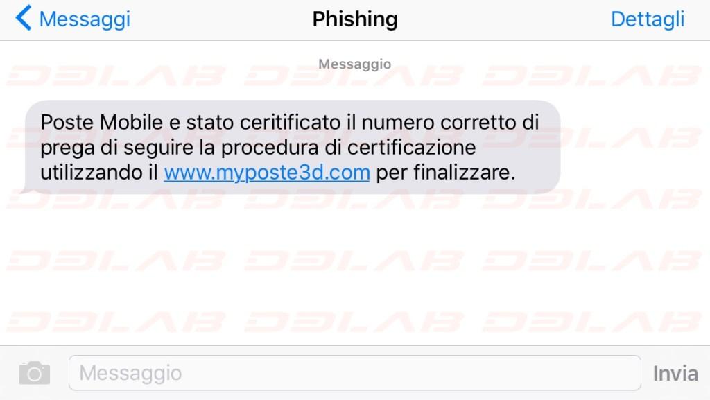 SMS Phishing