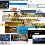 Google & Office 365 phishing business victims