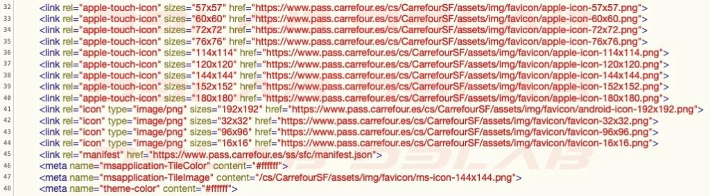 riferimenti a Carrefour Spain