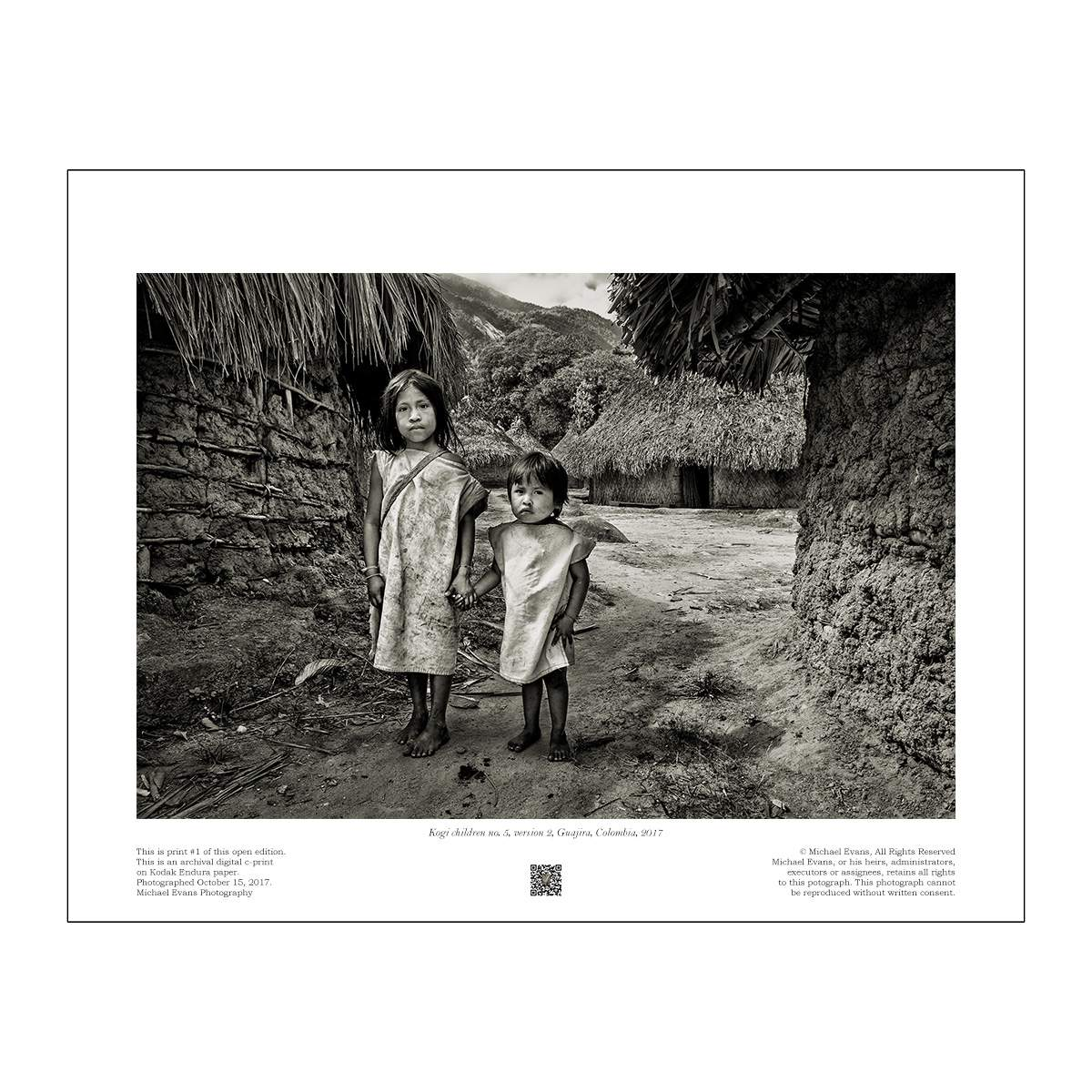 Kogi children no. 5, version 2