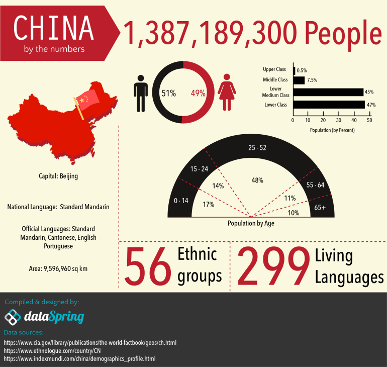 [Infographics] A Marketer's Glimpse Into China