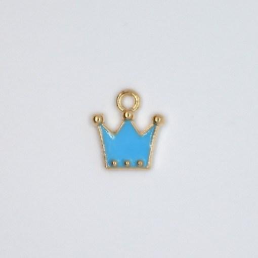 Krone blau 5x10mm