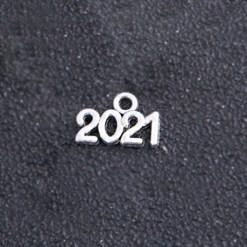 schriften jahreszahl 2021 silber 15x10mm