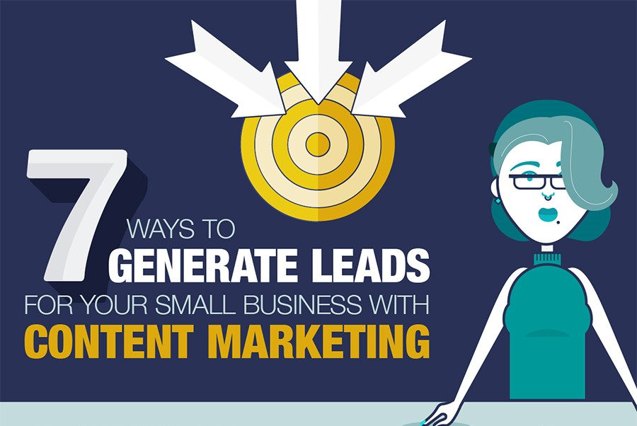 7 Tactics To Generate Leads Through Content Marketing